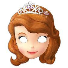 Sofia the First Party Masks