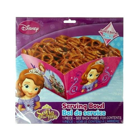 Sofia the First Party Serving Bowl