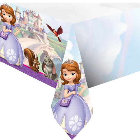 Sofia the First Party Table Cover - Yakedas Party and Giftware