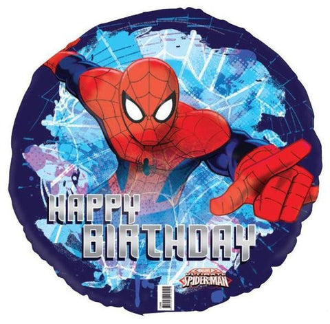 Spider - Man Party Foil Balloon - Yakedas Party and Giftware