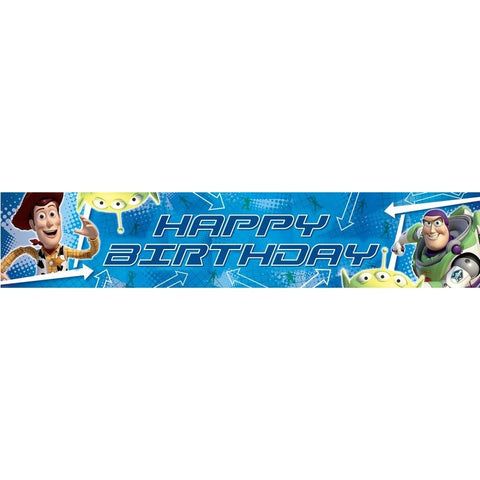 Toy Story Birthday Banner - Yakedas Party and Giftware
