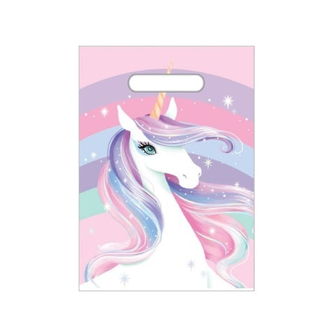 Unicorn Party Bags - Yakedas Party and Giftware