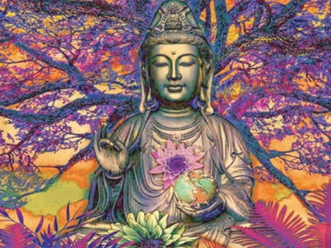 Diamond Art - BUDDHA TREE