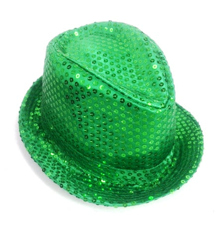 Shinning Hat Sequin Green