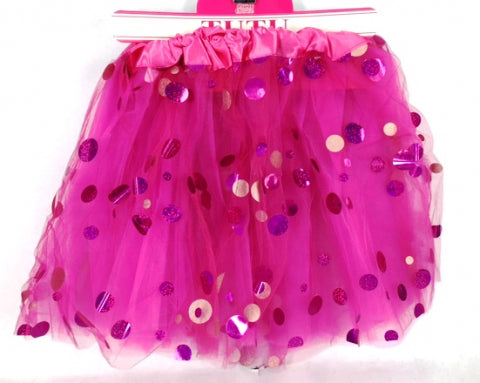 Hot Pink Shining Dot Tutu - Yakedas Party and Giftware