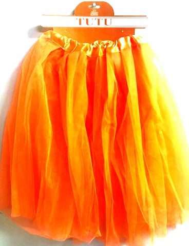 Orange Tutu - Yakedas Party and Giftware
