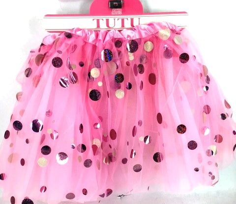 Pink Shining Dot Tutu - Yakedas Party and Giftware