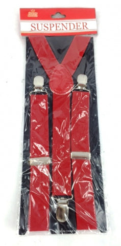 Adult Suspender Red - Yakedas Party and Giftware
