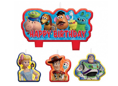 Toy Story  Candle Set - Yakedas Party and Giftware