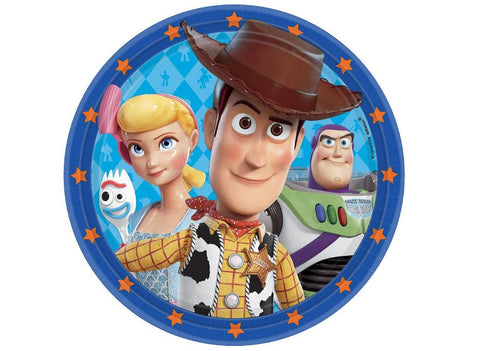 Toy Story  Dinner Plates 8pk - Yakedas Party and Giftware