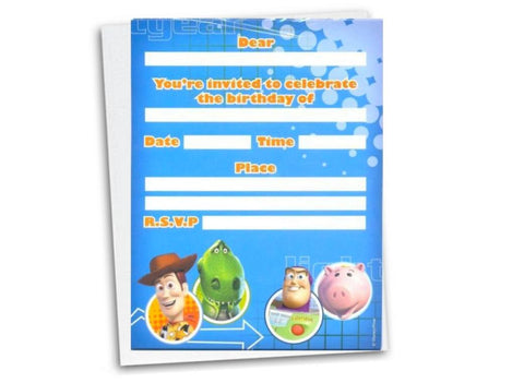 Toy Story Invitations - Yakedas Party and Giftware