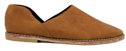 Ausi Slip On In Toffee Leather