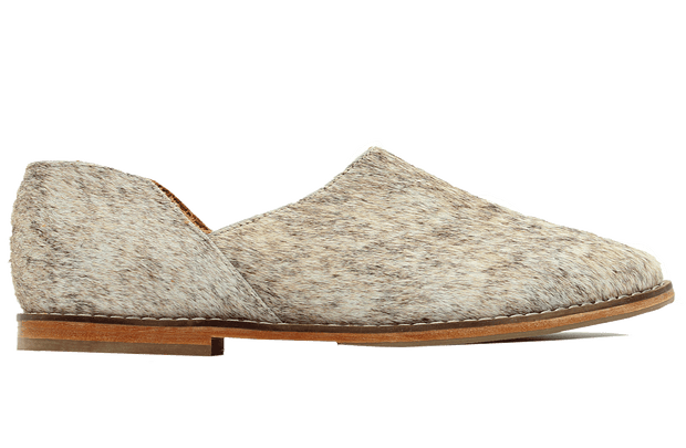 Ausi Slip On In Brown Cowhide