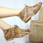 Dumi Vellie In Nguni Salt Brown (LIMITED EDITION)