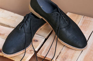 Mens Khule Oxford In Diesel Croc - Matsidiso South Africa