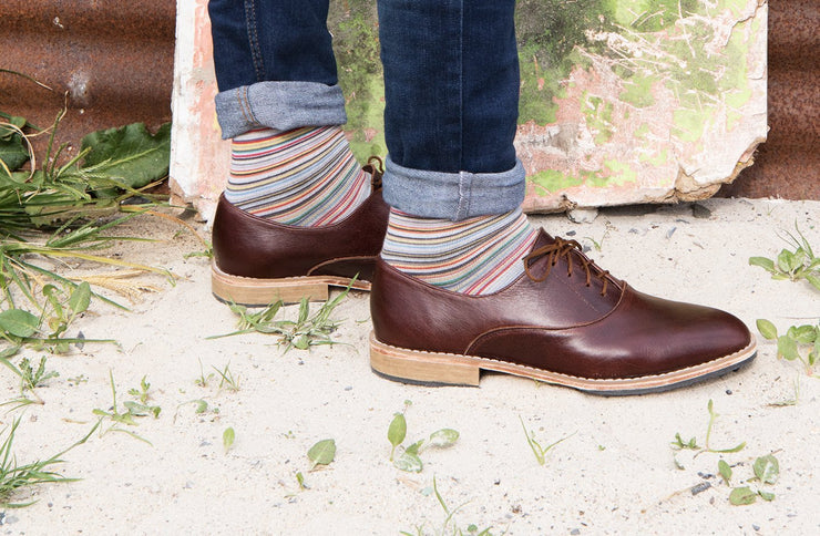 Mens Khule Oxford In Espresso - Matsidiso South Africa