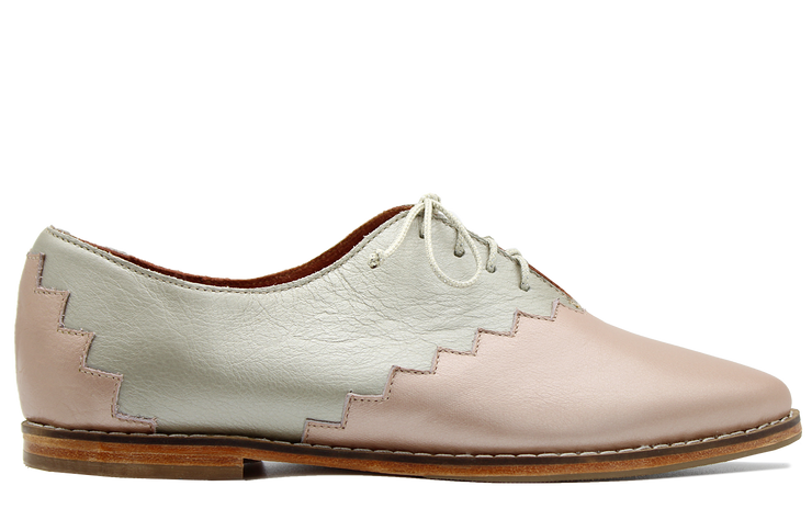 Noxolo Oxford in Metallic Rose / Metallic Gold