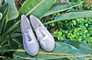 Xolani Oxford In Grey Dots