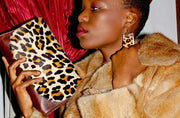 The Mavourneen Clutch In Leopard Print