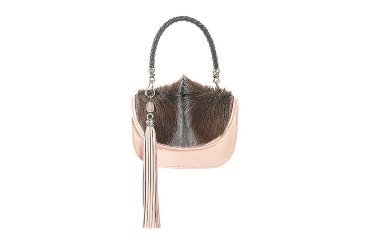 The Camille Bag In Ballet Pink / Springbok - Matsidiso South Africa