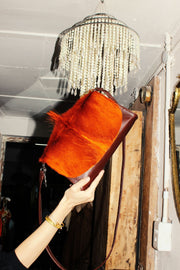 The Mavorneen Clutch In Orange - Matsidiso South Africa