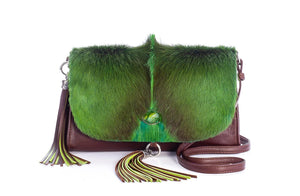 The Mavourneen Clutch In Emerald - Matsidiso South Africa