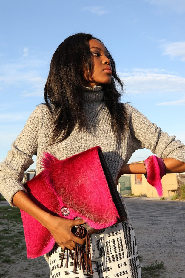 The Queen of Wakanda Clutch Large - Matsidiso South Africa