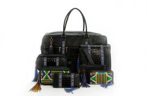 The Solivagant Duffle in Black - Matsidiso South Africa