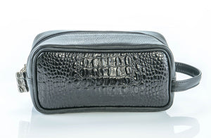 The Solivagant Toiletry Bag in Black - Matsidiso South Africa