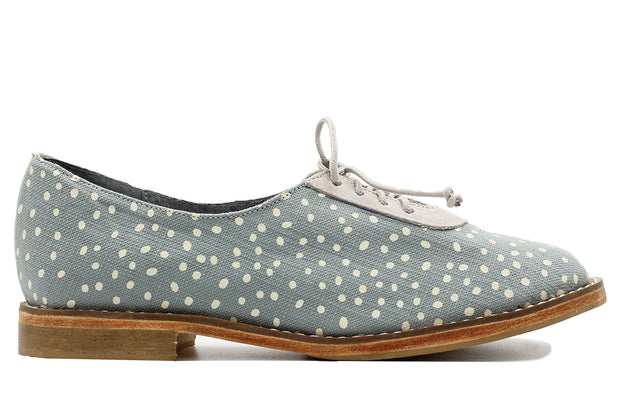 Xolani White Dots On Grey / Latte