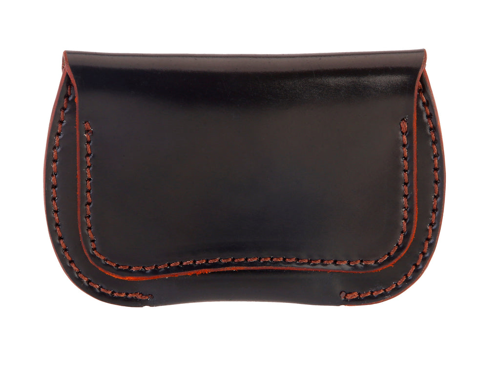 Button Coin Leather Wallet