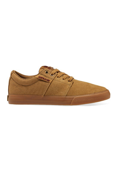 SUPRA STACKS II VULC Tan / Brown LT / Gum