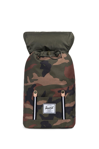 HERSCHEL RETREAT BACKPACK Woodland Camo / Black / White - Offset Collection