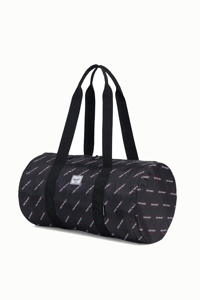 HERSCHEL INDEPENDENT PACKABLE DUFFLE Black