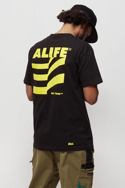 Camiseta Hombre ALIFE MUSEUM MEN TEE Black