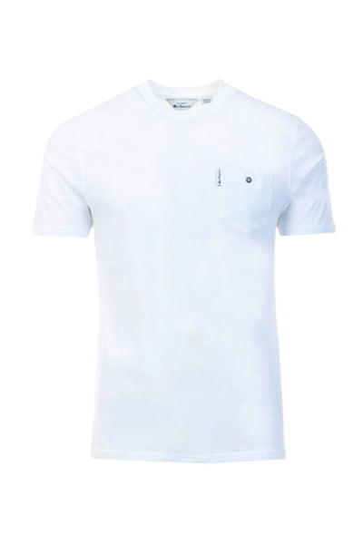 Camiseta Hombre BEN SHERMAN SIGNATURE MEN TEE White