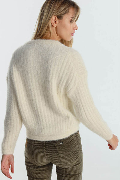 Jersey Mujer DANIELA WOMEN SWEATER Off White