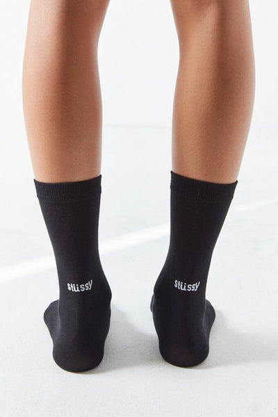 STUSSY EVERYDAY MEN SOCKS Black