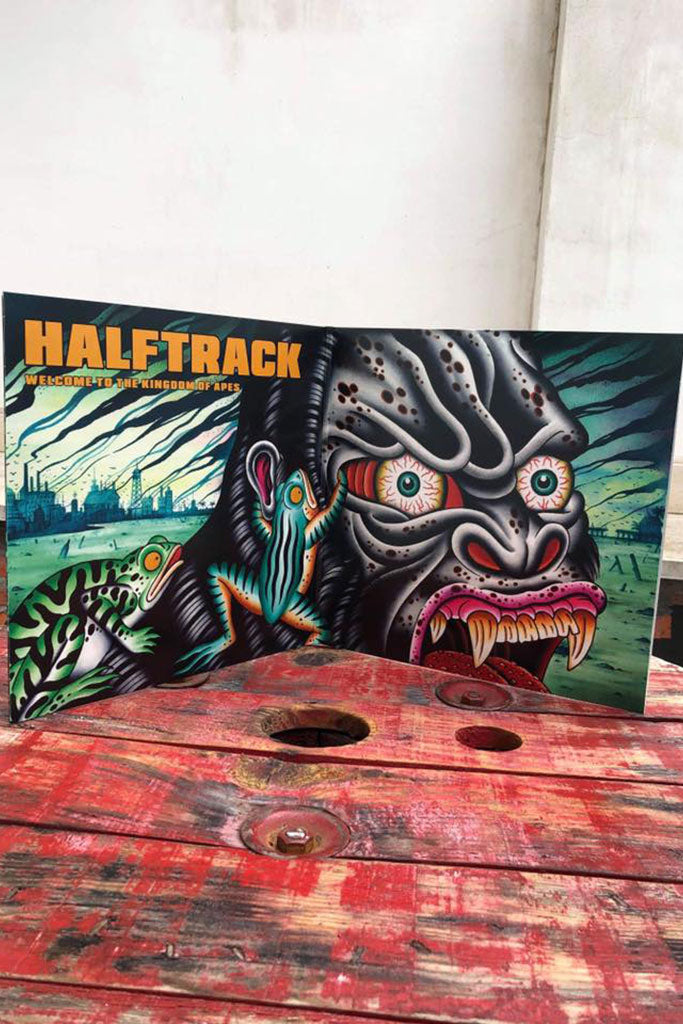 "HALFTRACK ""Welcome to kingdom of apes"" LP"