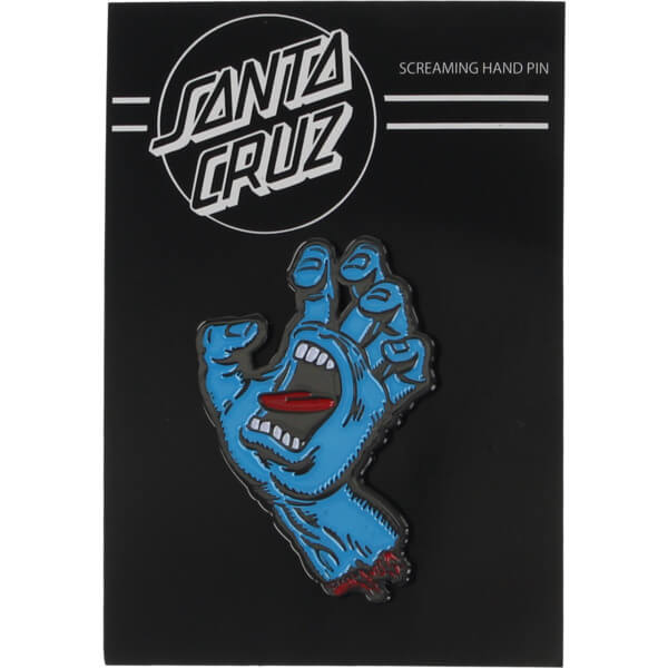 SANTA CRUZ SCREAMING HAND PIN