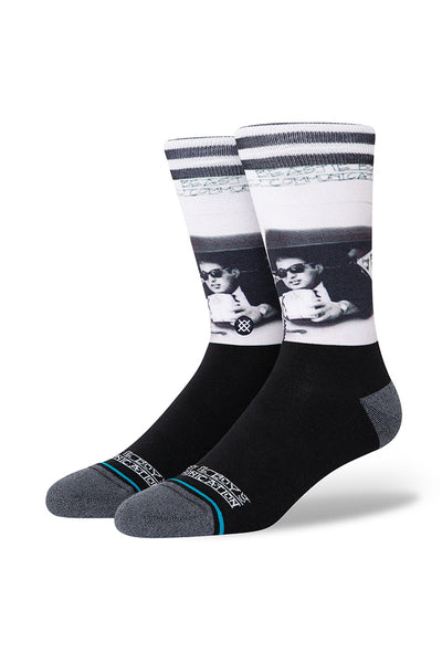 Calcetines STANCE ILL COMMUNICATIONS Black (BEASTIE BOYS Collection)