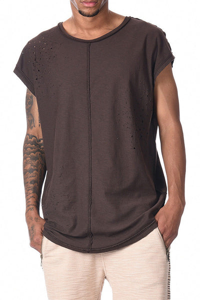Camiseta Hombre BLACK KAVIAR SPERRY MEN TEE Brown