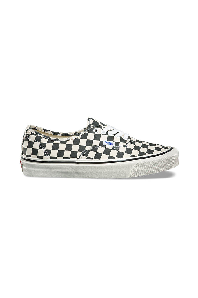VANS AUTHENTIC 44 DX (ANAHEIM FACTORY) Black Checkerboard