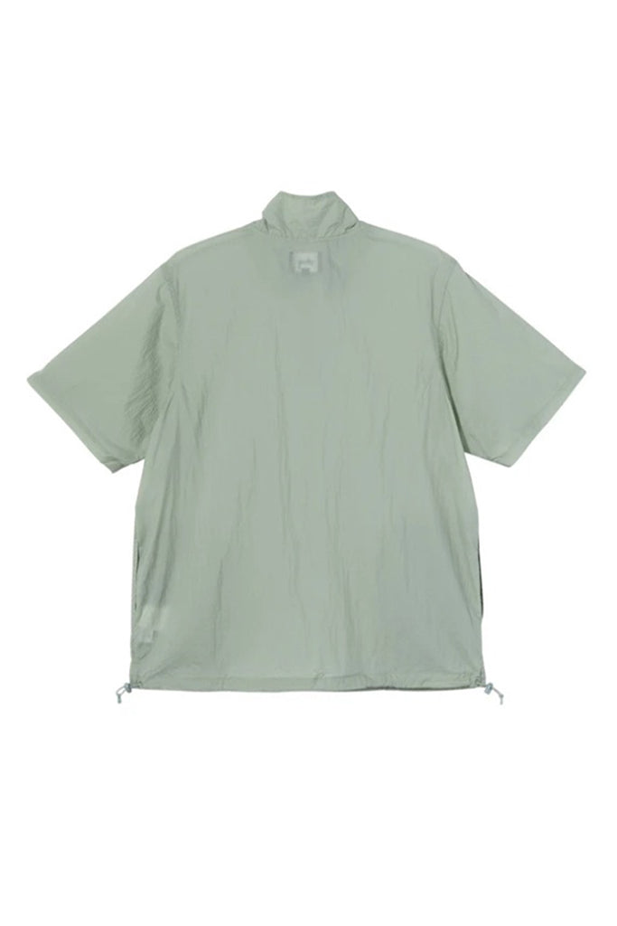 STUSSY NYLON WARM UP SHELL WOMEN SHIRT Sage
