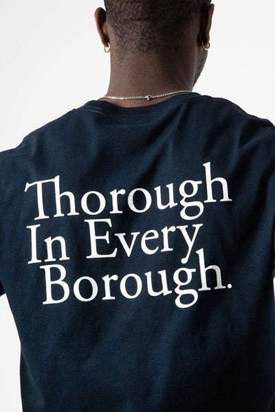 Camiseta Hombre ALIFE THROUGH IN EVERY BOROUGH MEN TEE Navy