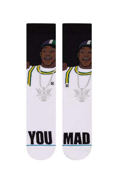 STANCE YOU MAD? Black (CAM´RON COLLECTION)