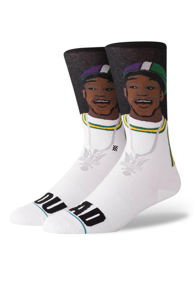 Calcetines STANCE YOU MAD? Black (CAM´RON Collection)