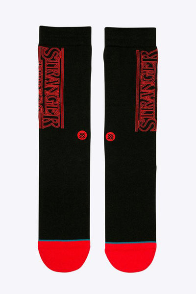 STANCE STRANGER THINGS Black