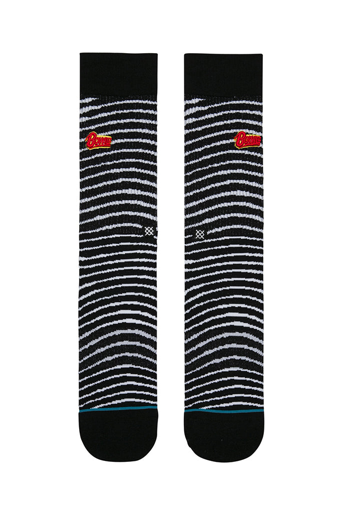 Calcetines STANCE BLACK STAR Black (DAVID BOWIE COLLECTION)