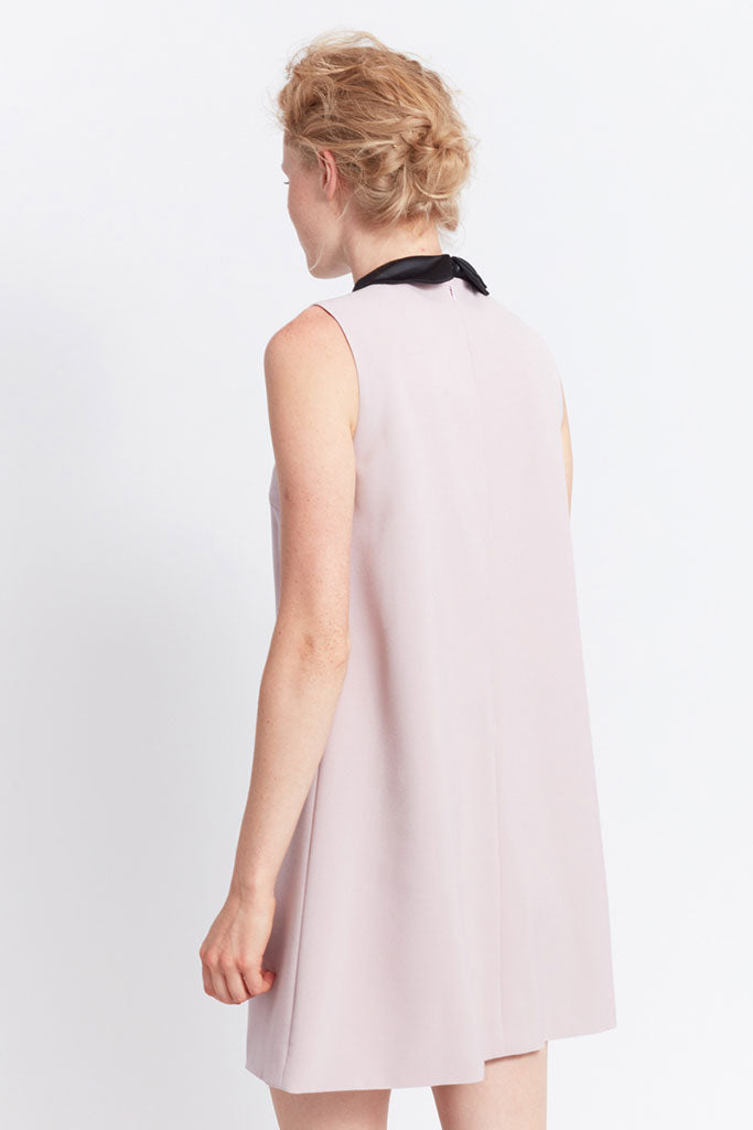 MIGLE+ME BOURGES DRESS Dusty Rose